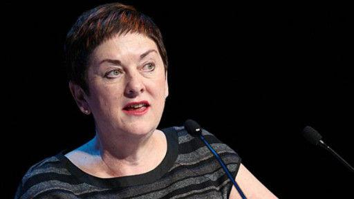 英国教师与讲师协会的负责人鲍斯泰德(Mary Bousted)