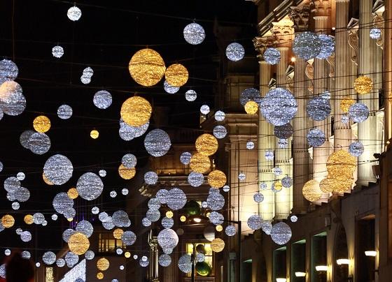牛津街圣诞亮灯