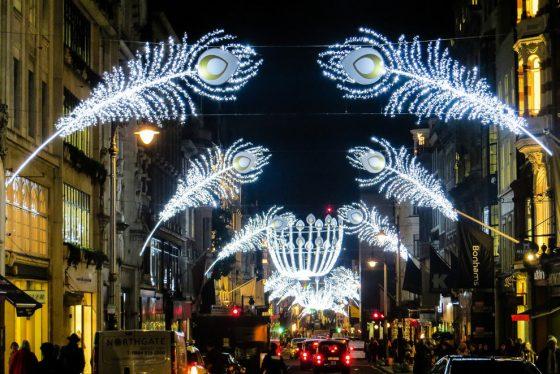 邦德街圣诞点灯