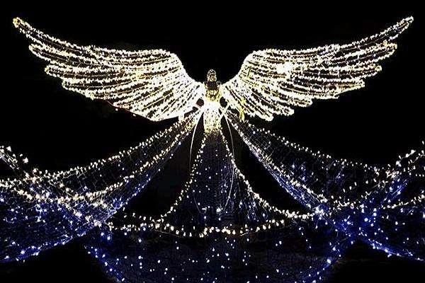 摄政街圣诞亮灯